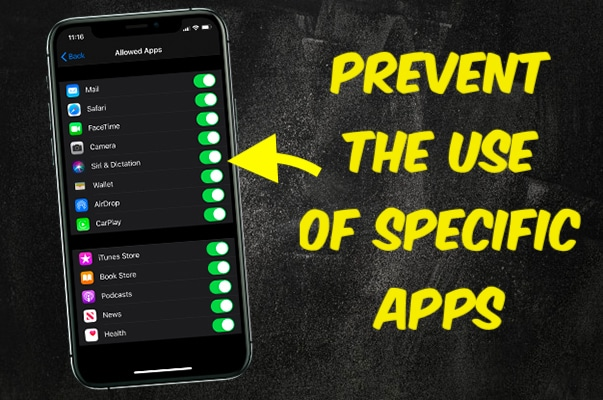 Preventing the Use of Specific Apps