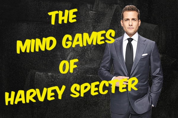 The Mind Games of Harvey Specter - spy a wife