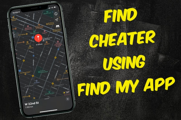 Find Cheaters with Find My Friends App on iPhone