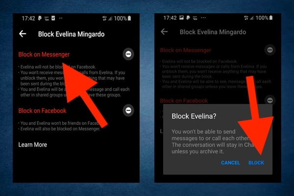 How to block someone on Facebook Messenger on Android