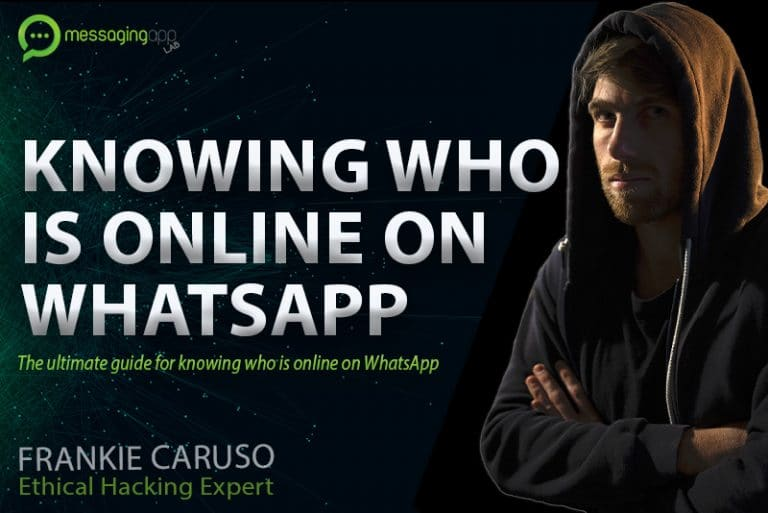 how to know who is online on WhatsApp