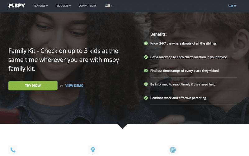 mSpy app monitor child's phone