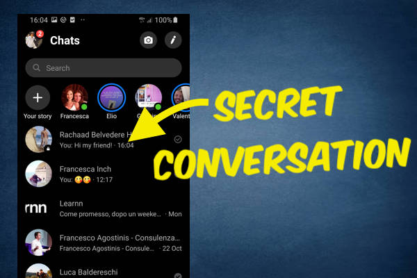 How to See Secret Conversations with Android