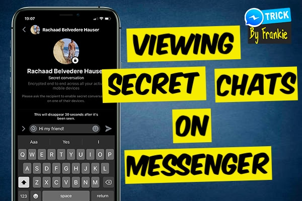 how to read secret conversations on messenger