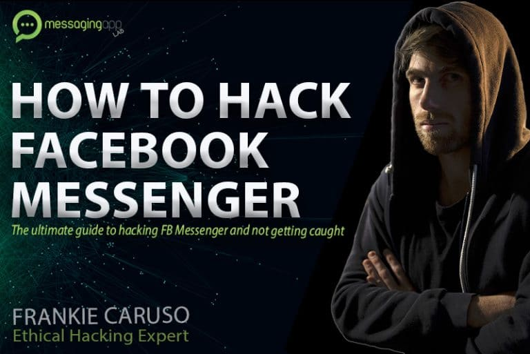 how to hack Facebook messenger without getting caught