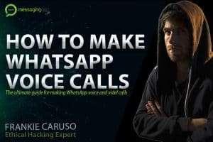 How to make a call on WhatsApp