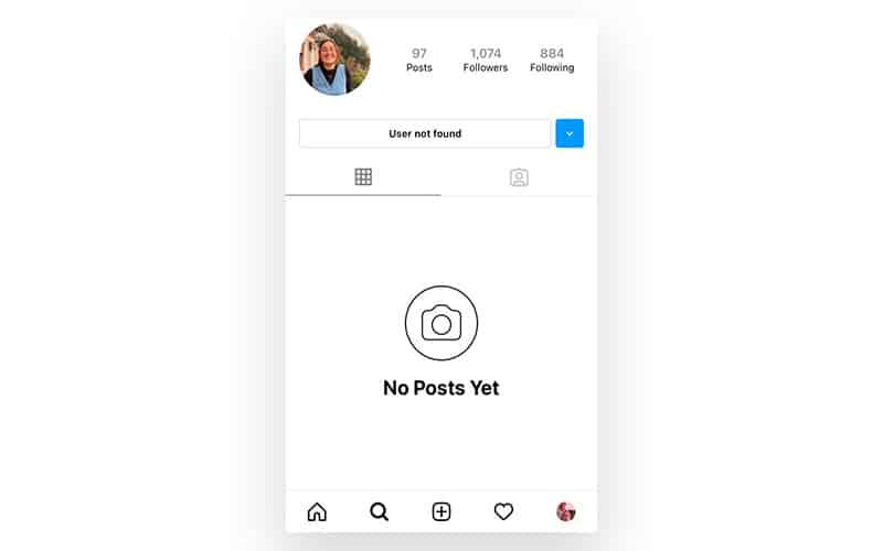 No posts yet on instagram