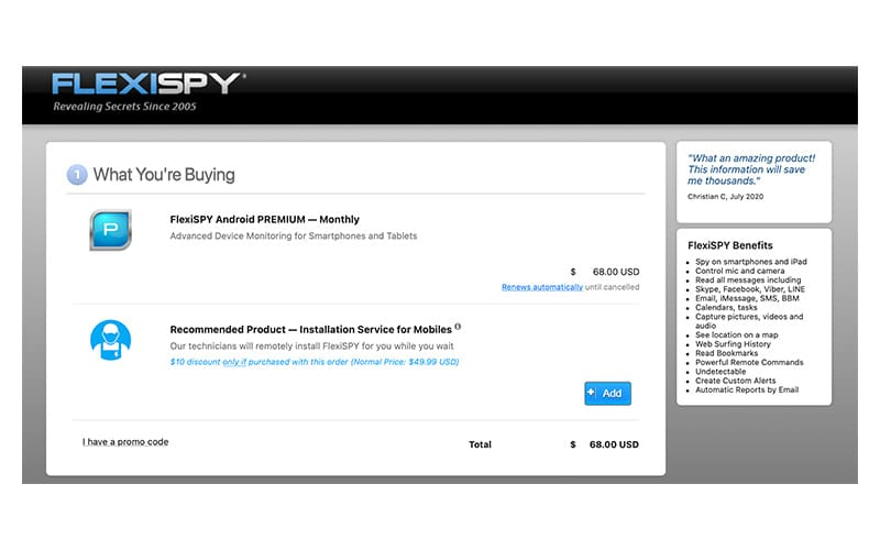 buy FlexiSPY